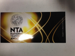 After show party, yes!!!! NTA's