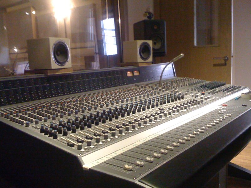 Press Play studios, London December 2009