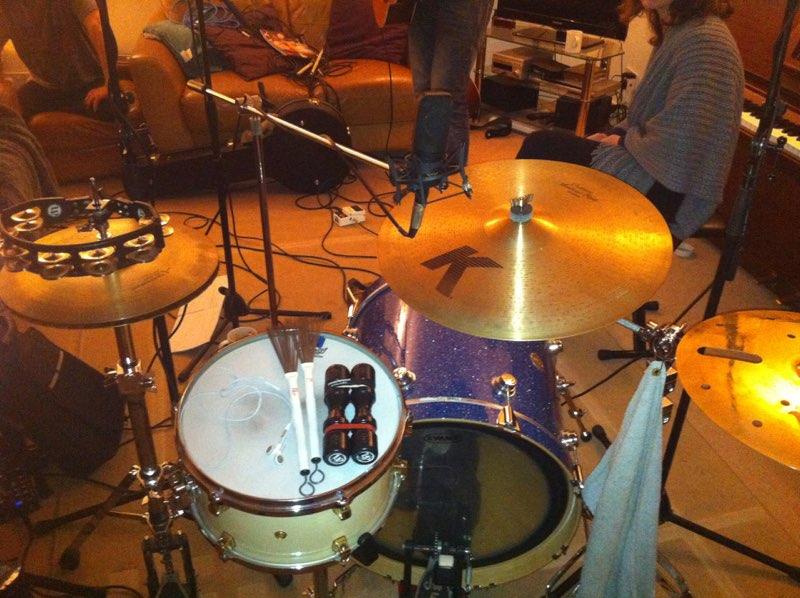 Recording at home,Harmondsworth 2011