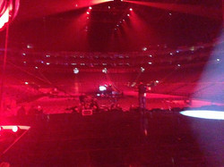 View from the stage, NTA's O2 Arena