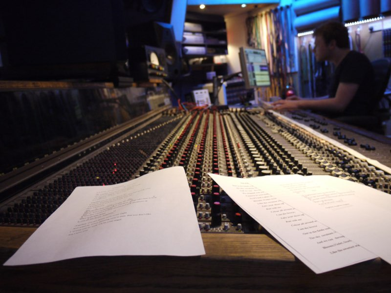 Eastcote studios, London.