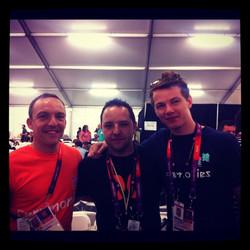 Me, Ade & Tom pre show