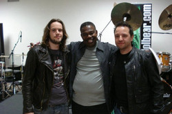With Andy and Ndugu DrummerLive 2010
