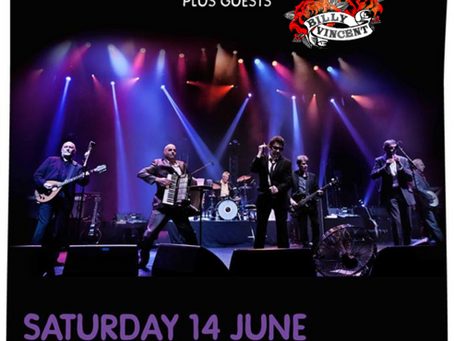 Supporting The Pogues!