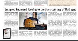 Sean in Music Week Press.
