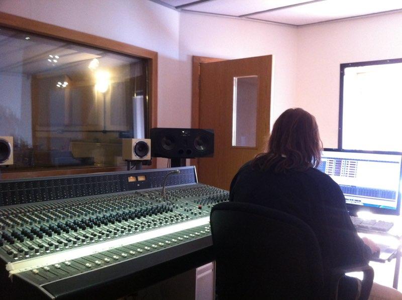 Editing my solo album at Press Play