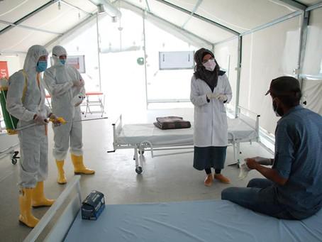 COVID-19: Neue Isolationszentren in Nordsyrien