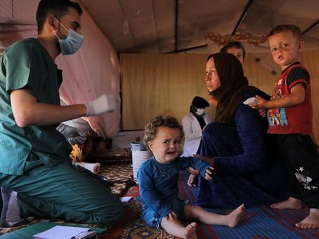 COVID-19 IN NORDSYRIEN: Mobile Kliniken im Einsatz