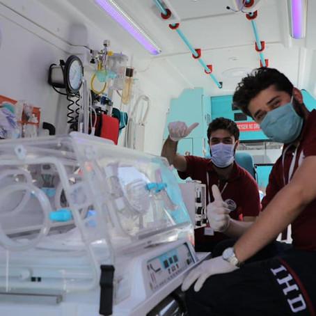 Ambulanzen für Nordsyrien