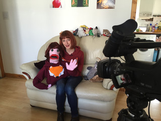 Meeting Deborah (and puppet Deborah!)