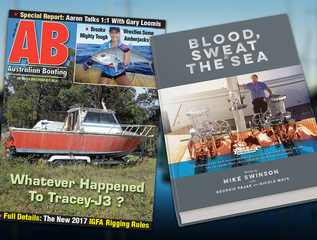 POSITIVE REVIEWS FOR 'BLOOD, SWEAT AND THE SEA'