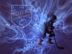 Ice Hockey flaming