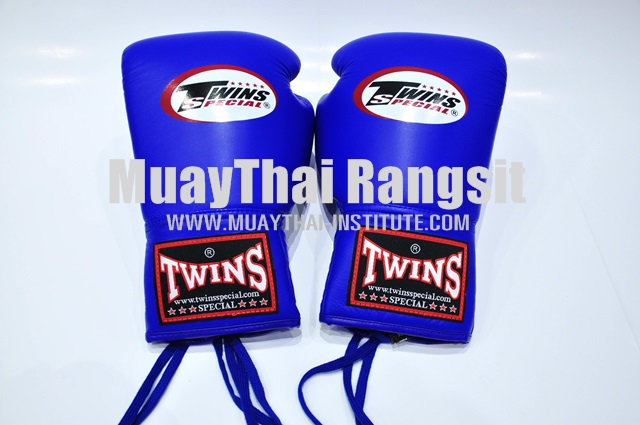 Boxing Gloves lace up closure