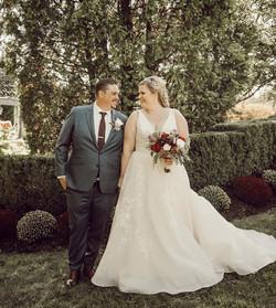Fall Park Savoy Wedding