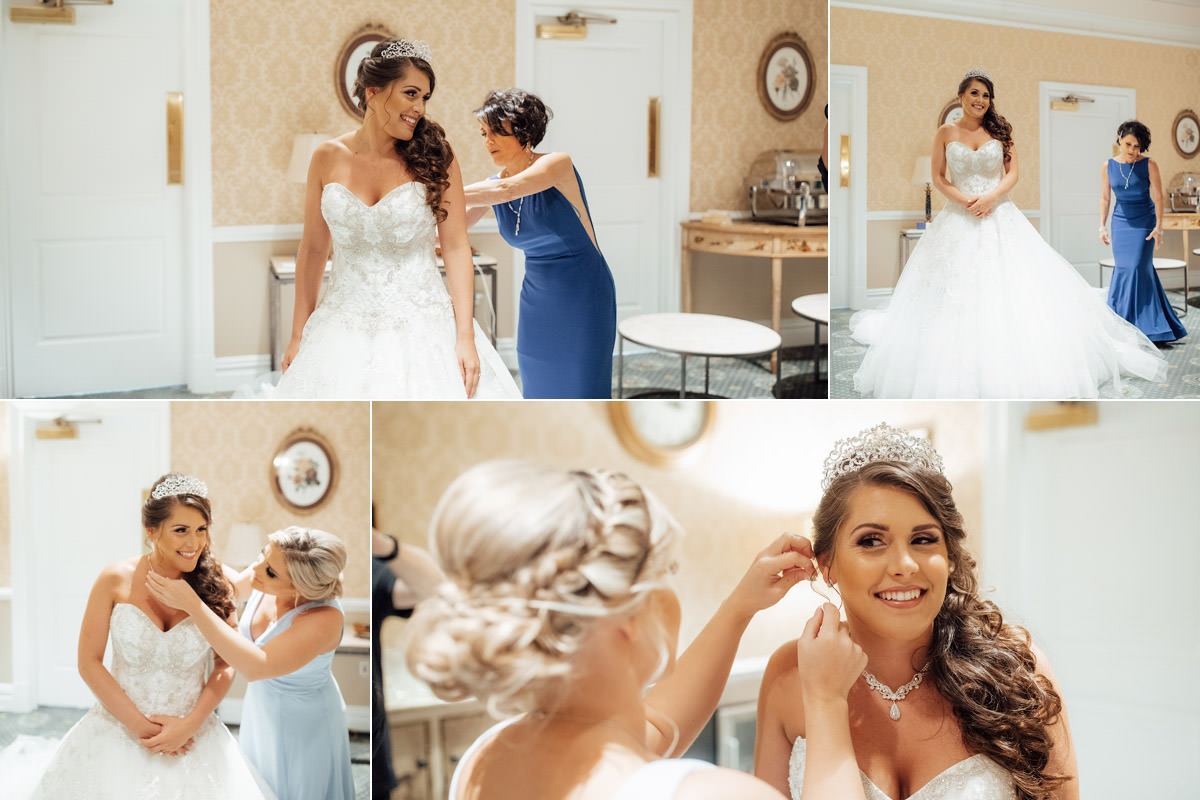 Getting the Bride Ready !!!