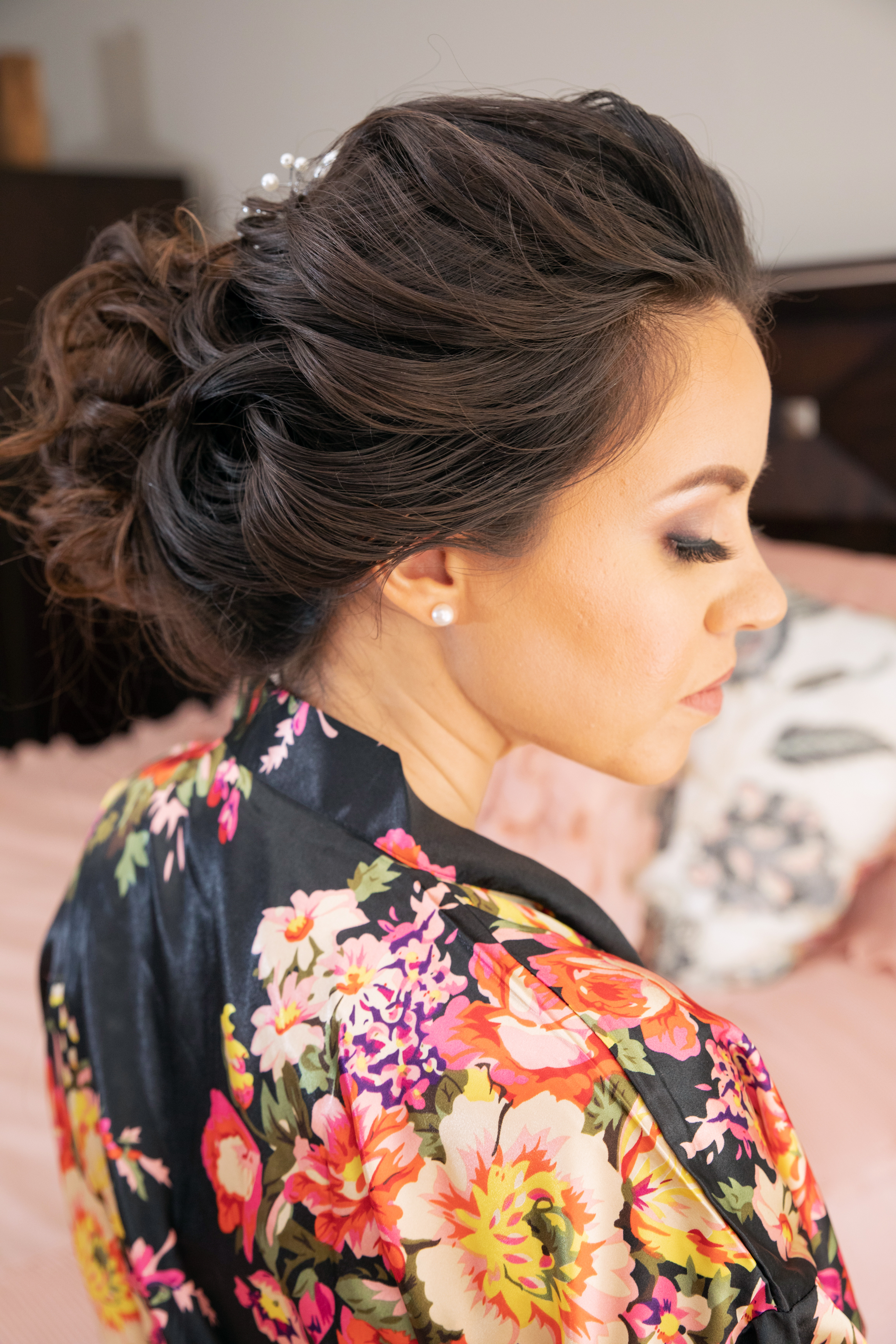 Up-do with BB Hair Piece
