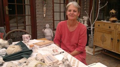 Visiting Rae Goosen in her studio
