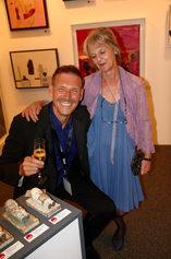 Rae and Maik at Cape Town Art Fair 2014