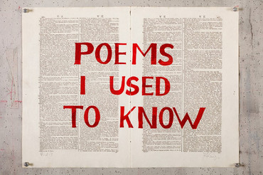 Poems I used to know