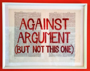Against Argument