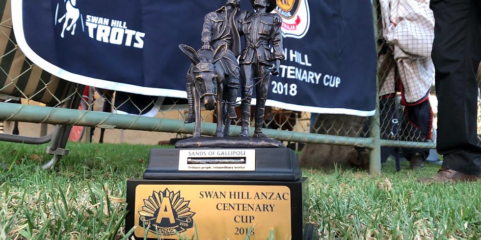 Swan Hill Trots on ANZAC day