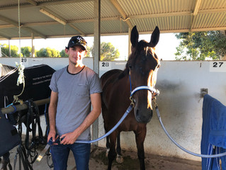 Successful Swan Hill trip for Riddell duo