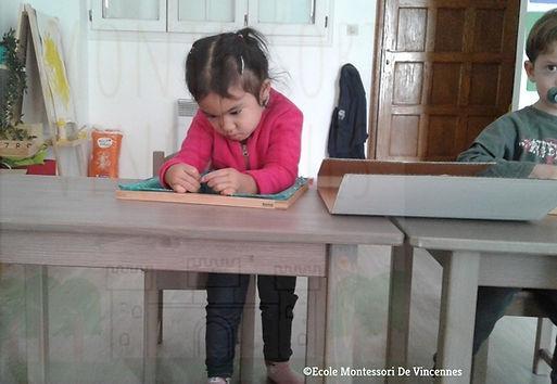 Montessori: la concentration