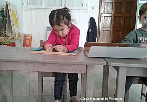 Montessori: la concentration