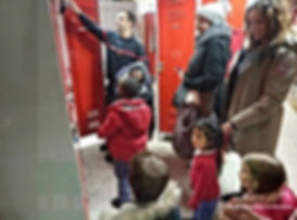 Montessori Vincennes: visite caserne des pompiers