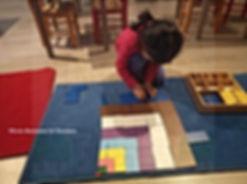 Montessori Vincennes: sensoriel