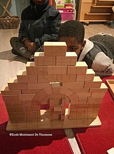 Montessori Vincennes seances de travail