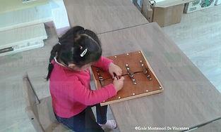 Montessori: la concentration chez l'enfant