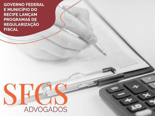 Governo Federal e Município do Recife lançam programas de regularização fiscal