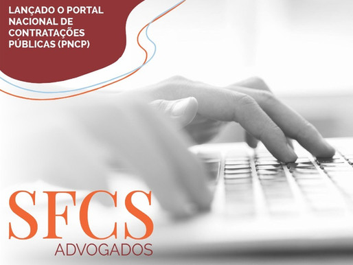 Lançado o Portal Nacional de Contratações Públicas (PNCP)