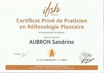 diplôme Praticien Réflexologue