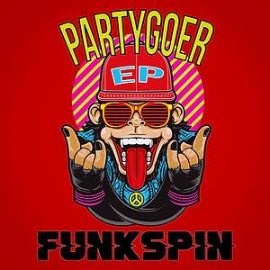 Funkspin Partygoer ep cover.jpg