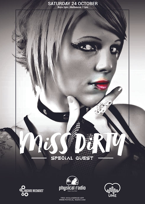 Miss Dirty Guest Mix on Physical Radio,