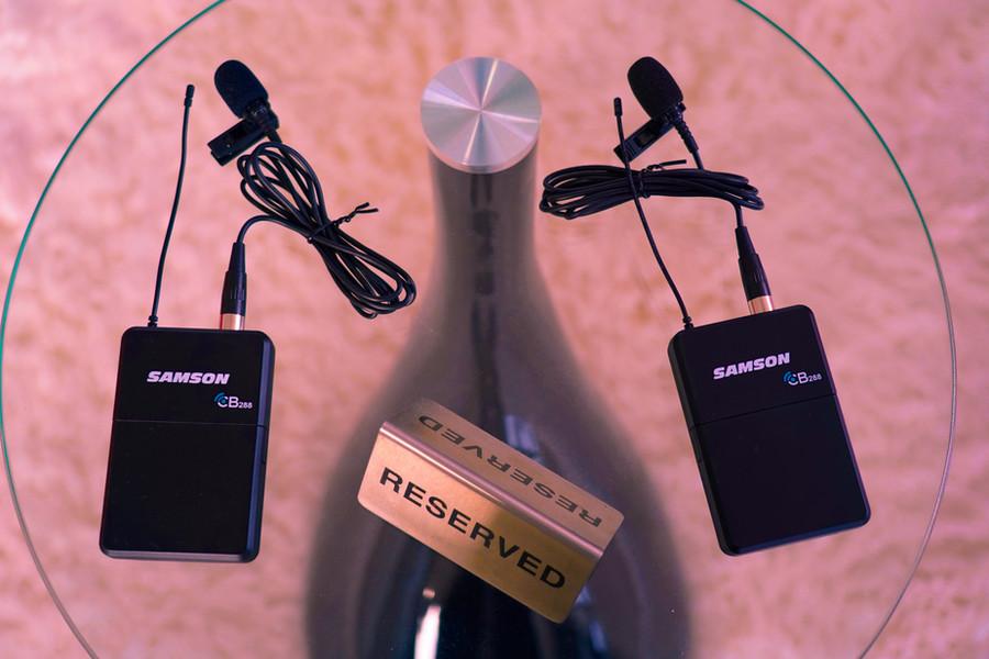 Physical_radio_australia_studio_setup_electronic_music_samson_wireless_microphone_concert