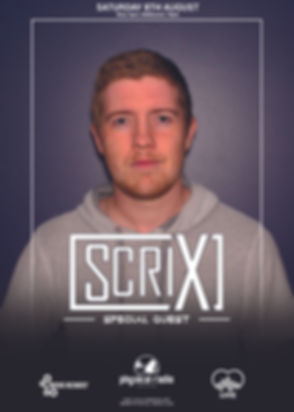 Scrix Guest Mix on Physical Radio, radio
