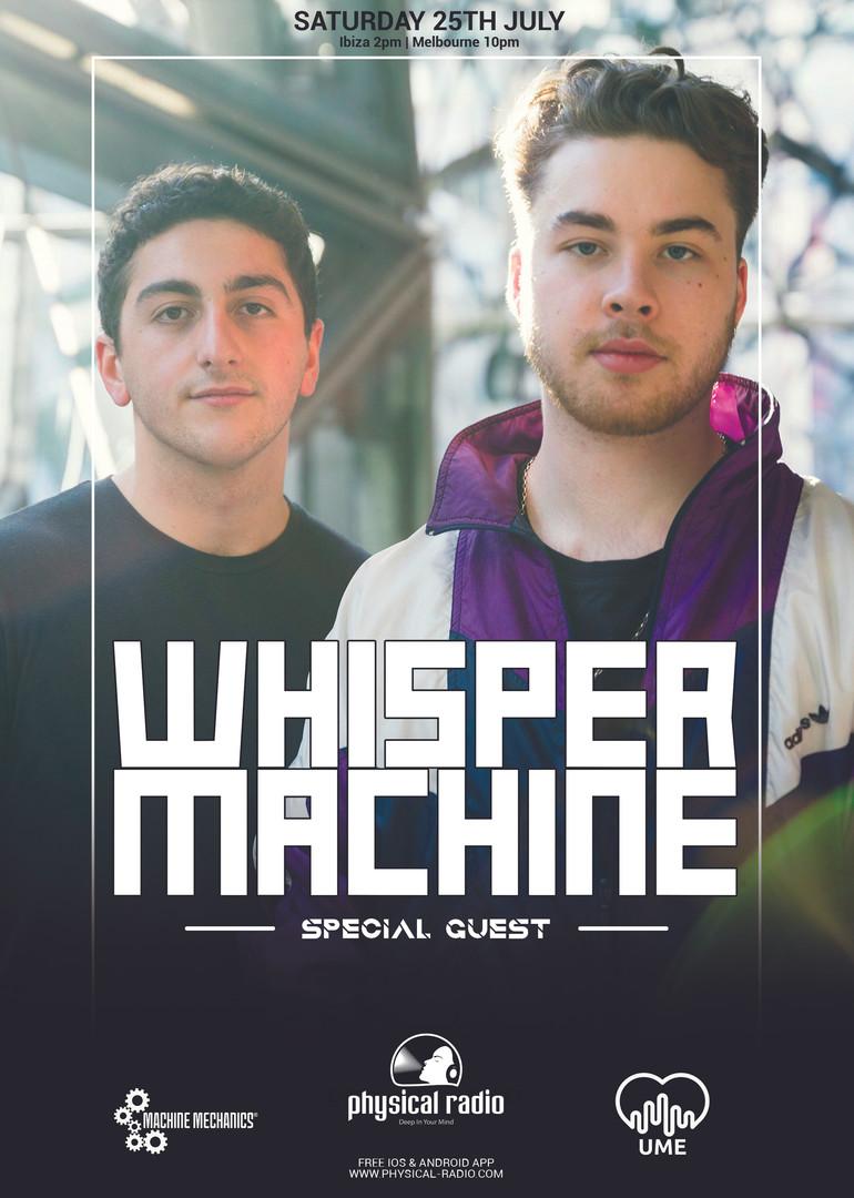WHISPER MACHINE