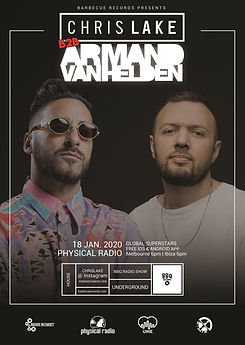 CHRIS LAKE ARMAND VAN HELDEN Physical Ra