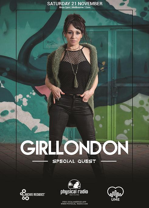 GirlLondon on Physical Radio