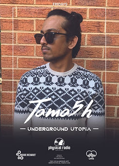Tama5h Weekly Show on Physical Radio Und