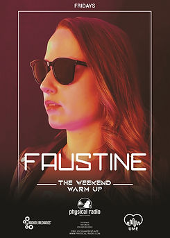 Faustine Weekly Show on Physical Radio