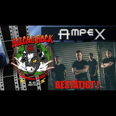 AMPEX auf dem Allgäu Rock 2021
