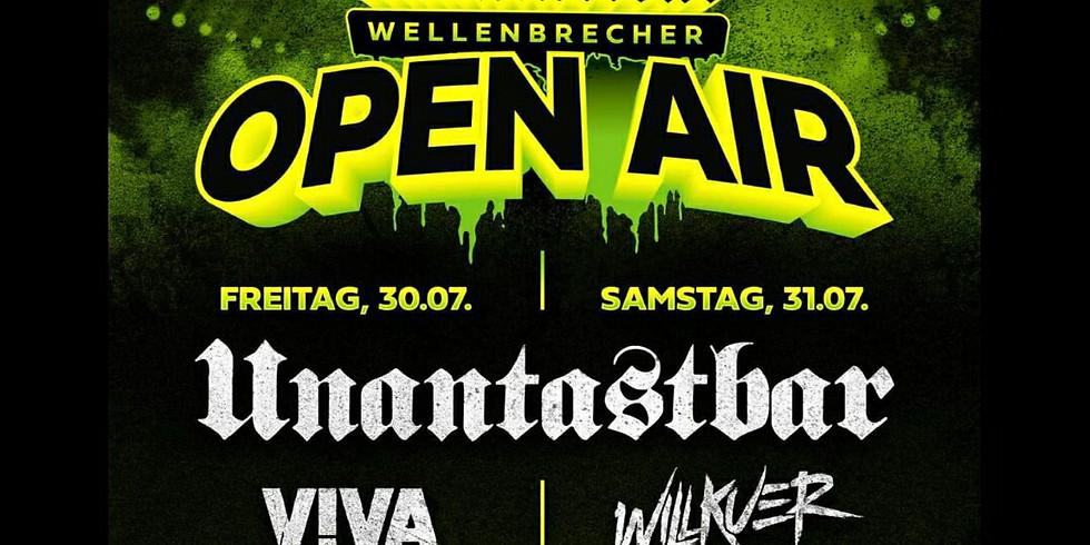 Ampex @Unantastbar Wellenbrecher Open Air