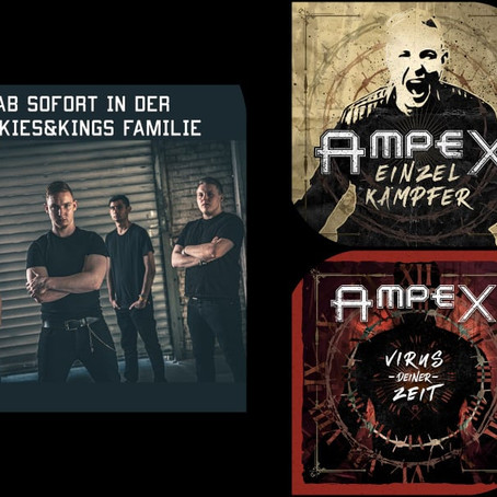AMPEX ab SOFORT in der Rookies and Kings-Familie !!