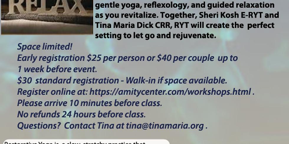 Restorative Yoga and Reflexology Workshop