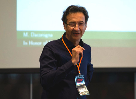 Prof. Dr. Michel Dacorogna speaks at conference in honor of Ramazan Gençay