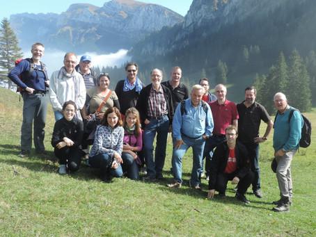 PRS hikes on the Unterlauelen alp